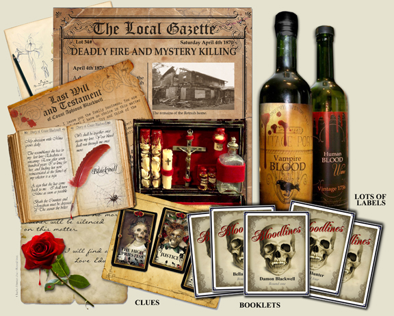 Download a printable MURDER MYSTERY PARTY GAME now, Titanic, Alice